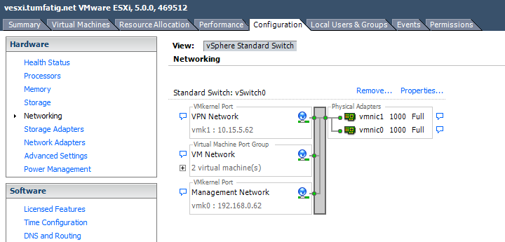 2 VMkernel ports on 1 ESXi