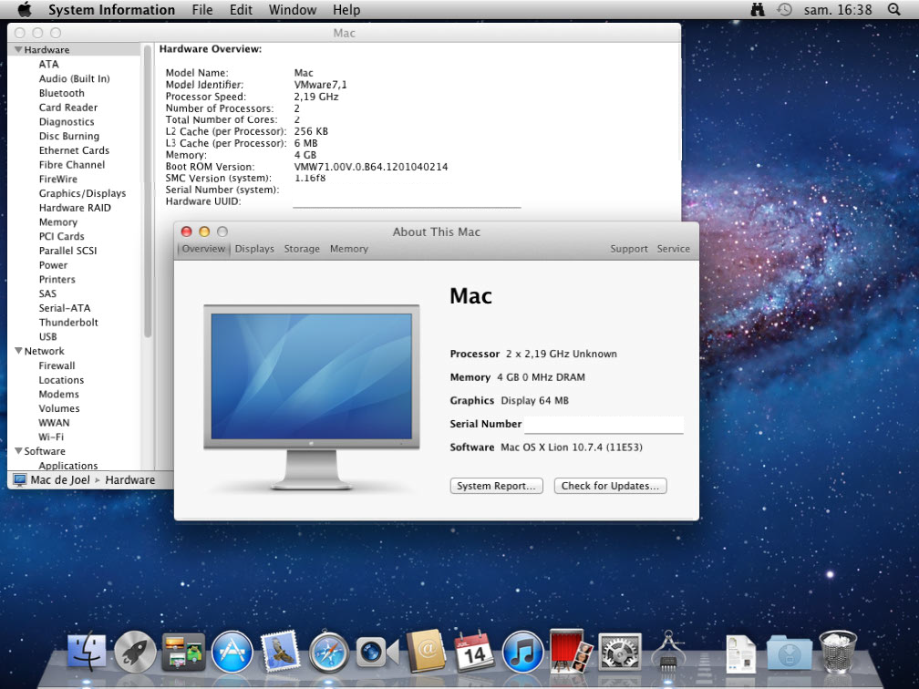 Running Mac OS X in VMware