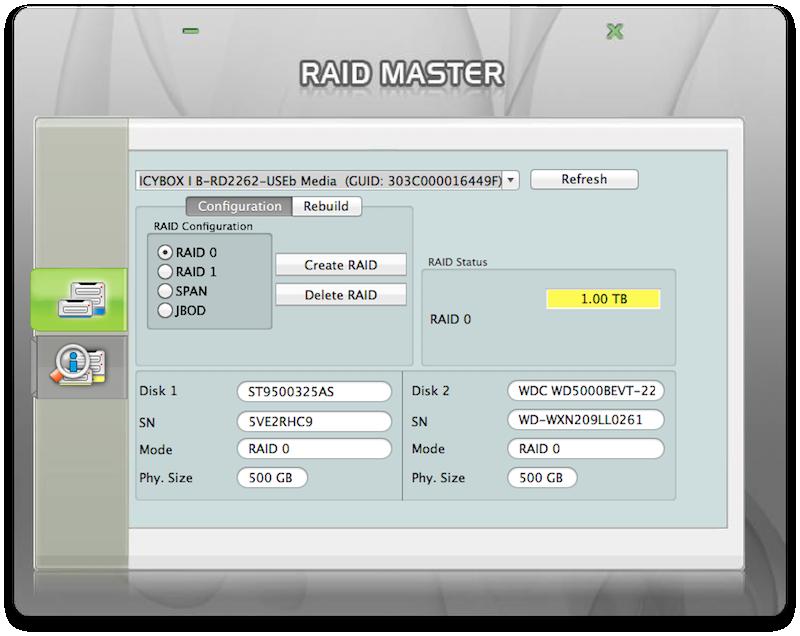 RAID Master RAID0