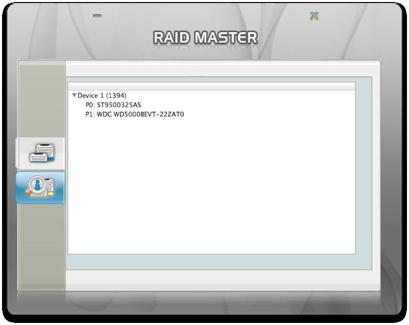 RAID Master infos
