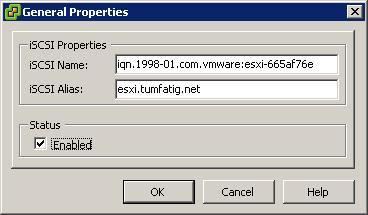 Enable Software iSCSI