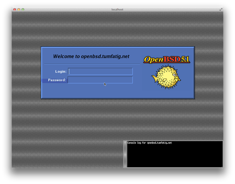 OpenBSD xdm