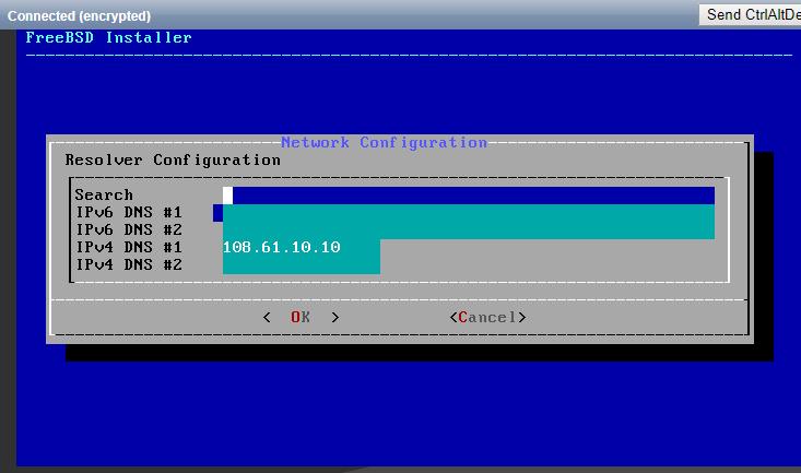 Configure name resolving
